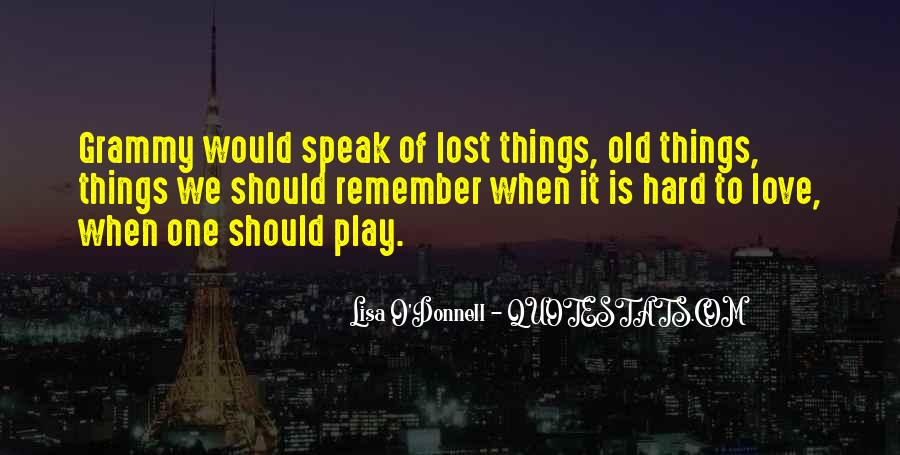 Lisa O'Donnell Quotes #226262