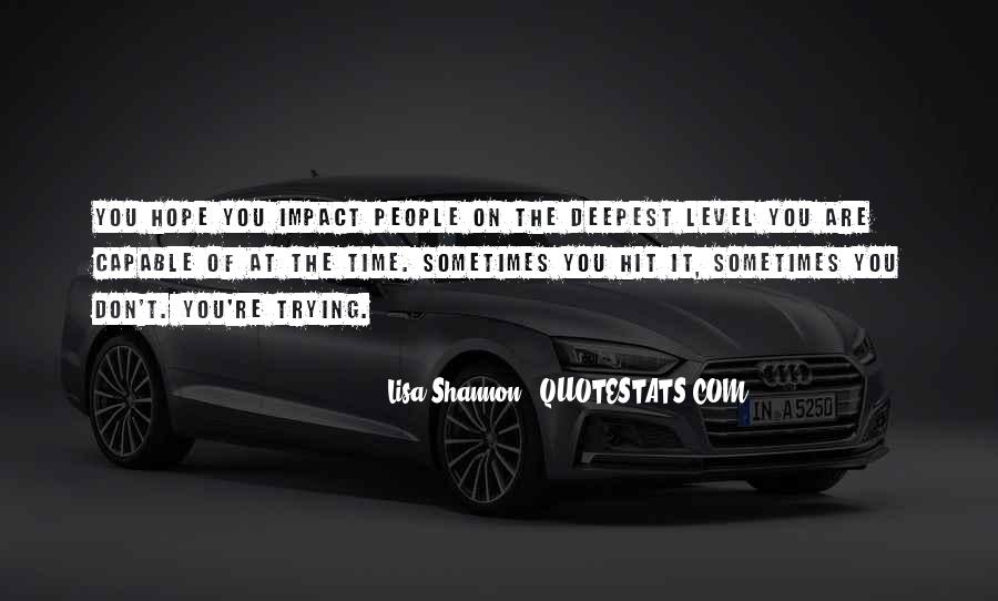 Lisa Shannon Quotes #1630516