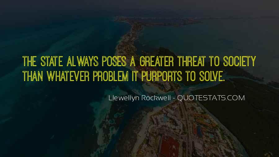 Llewellyn Rockwell Quotes #703060