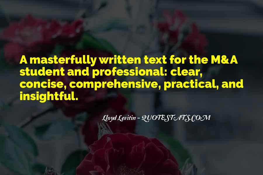 Lloyd Levitin Quotes #852516