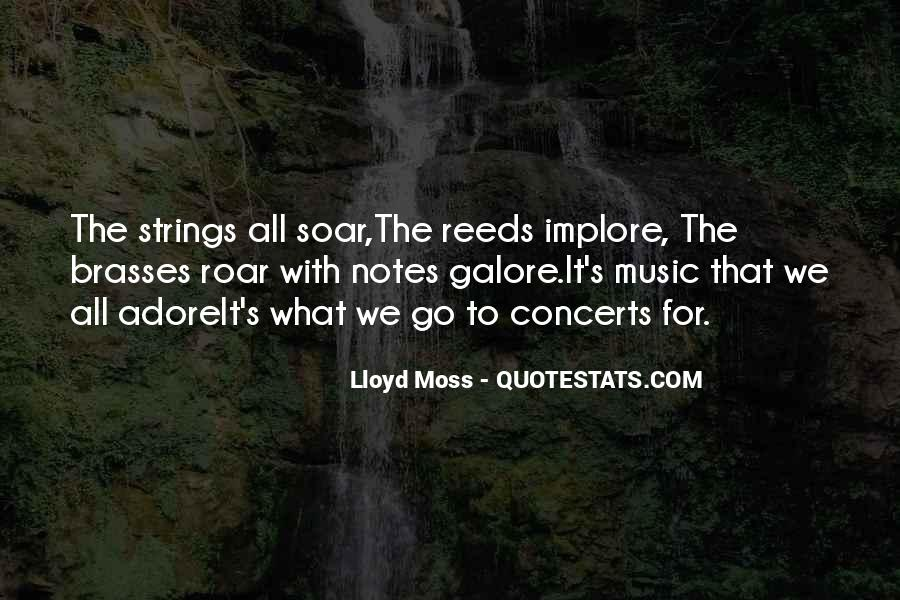 Lloyd Moss Quotes #1249851