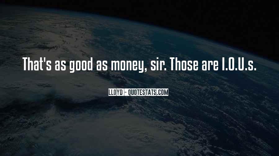 Lloyd Quotes #1323894