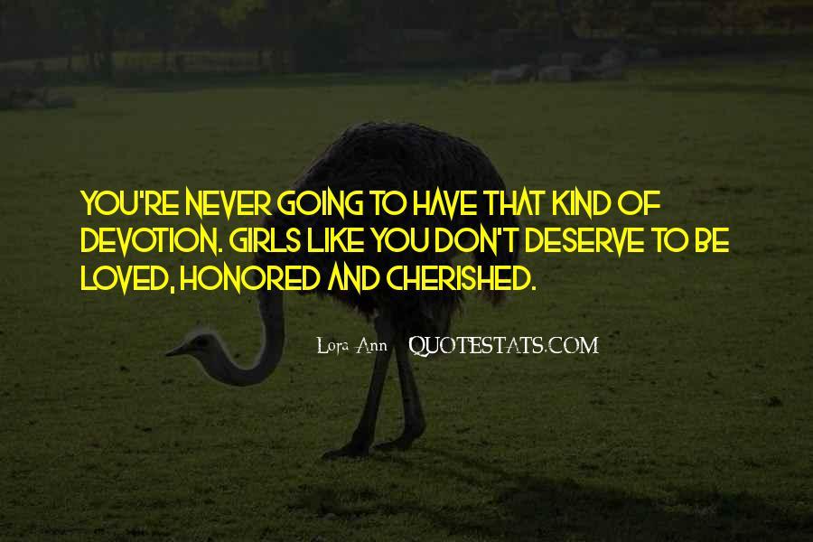 Lora Ann Quotes #1040272