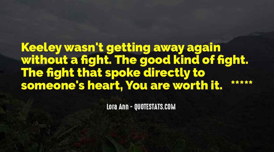 Lora Ann Quotes #1065258