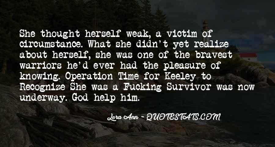Lora Ann Quotes #1085739