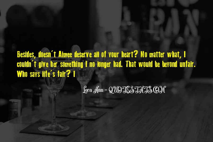 Lora Ann Quotes #1610838