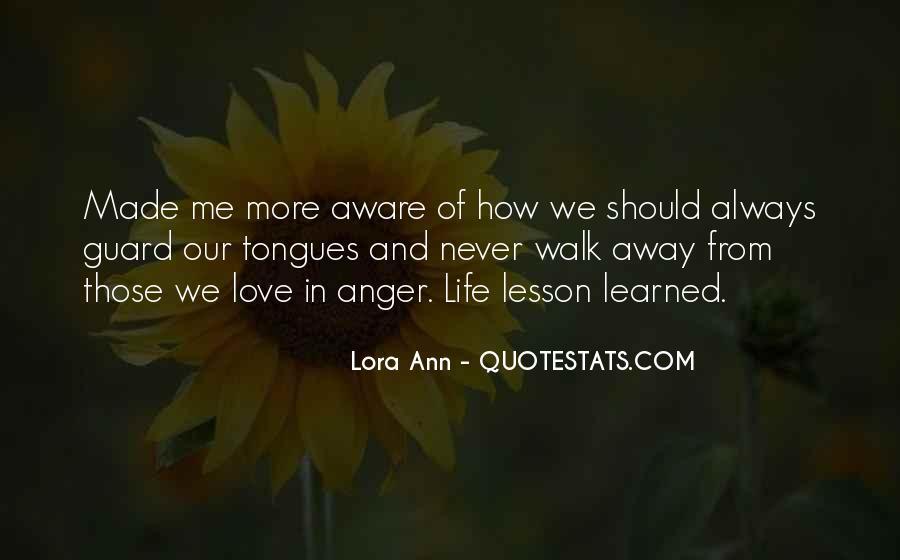 Lora Ann Quotes #1822261