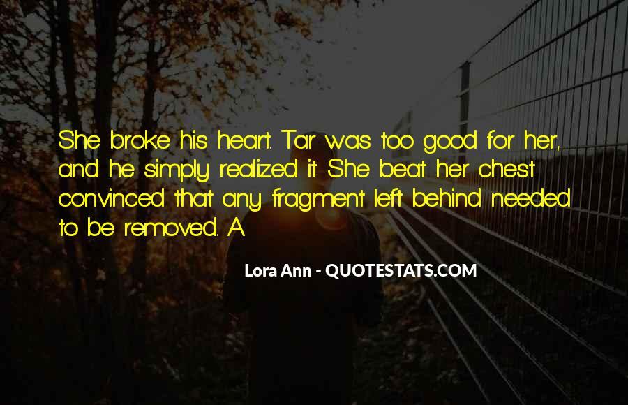 Lora Ann Quotes #191240