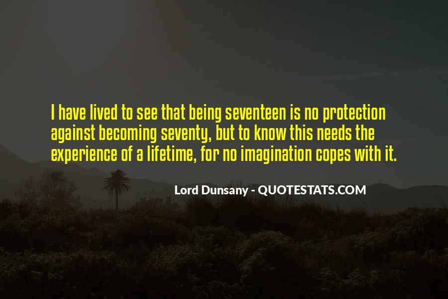 Lord Dunsany Quotes #1402647