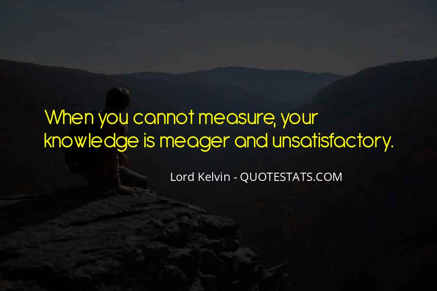 Lord Kelvin Quotes #126169
