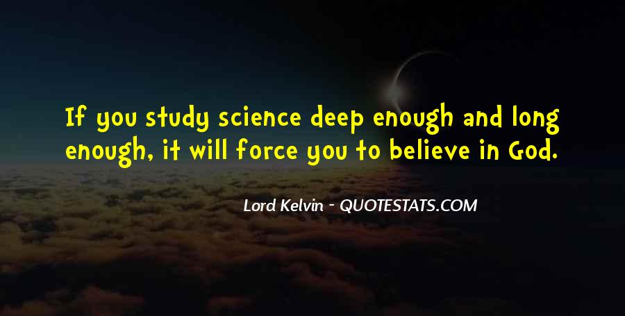 Lord Kelvin Quotes #1410881