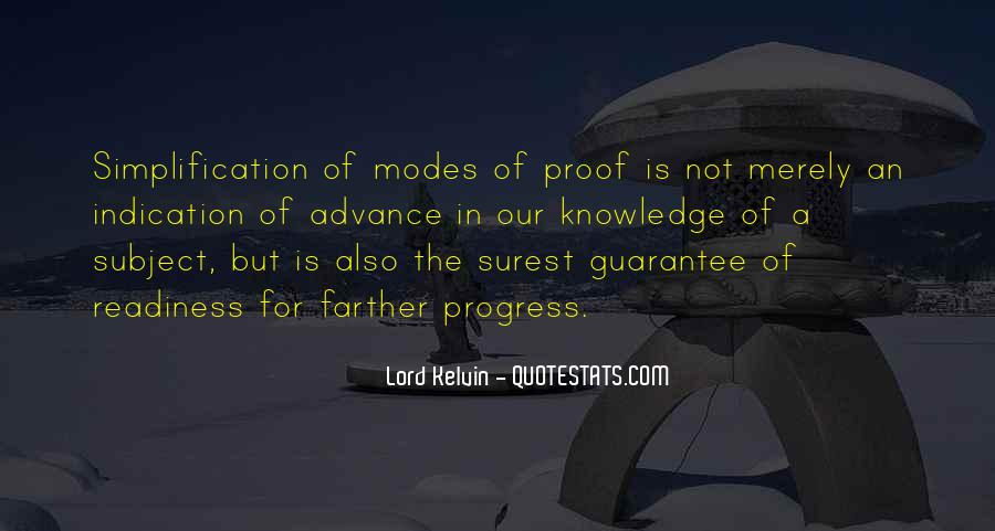 Lord Kelvin Quotes #1551373