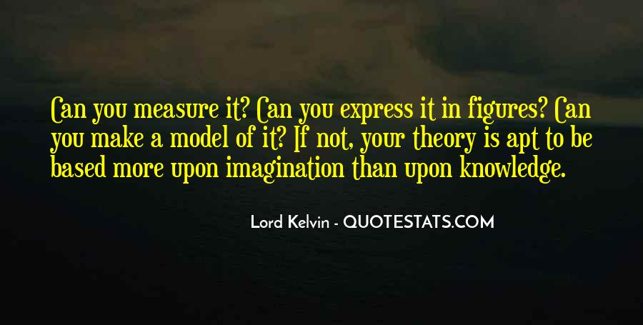 Lord Kelvin Quotes #1872823