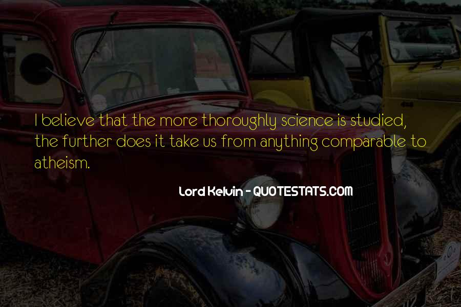 Lord Kelvin Quotes #297943