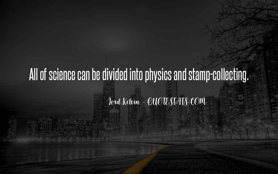 Lord Kelvin Quotes #838834