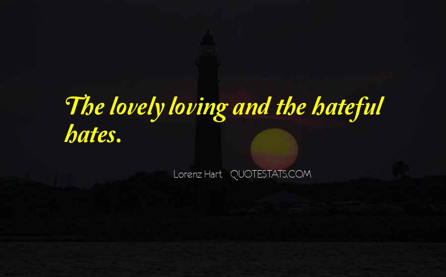 Lorenz Hart Quotes #616000