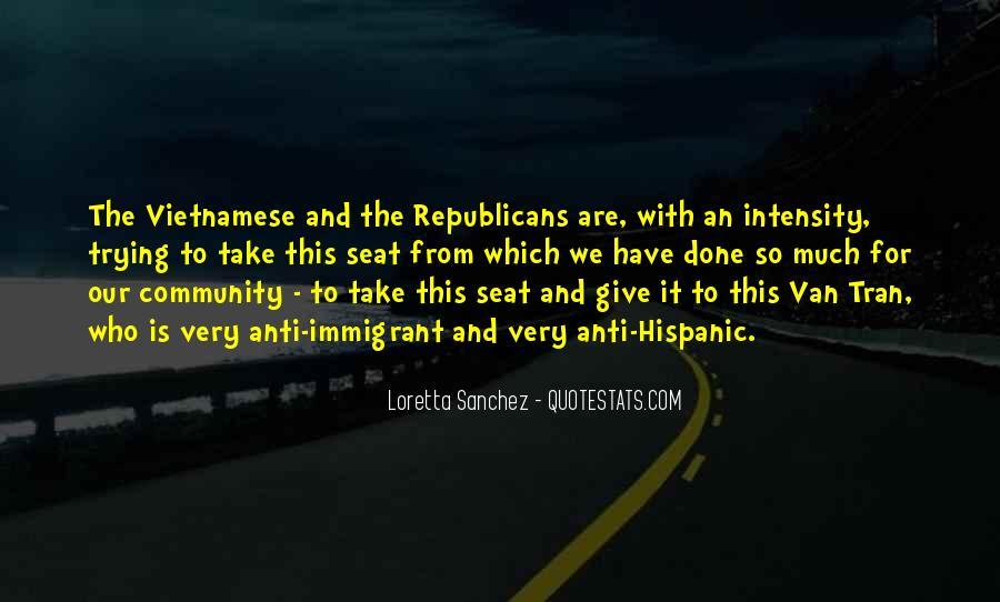 Loretta Sanchez Quotes #944867