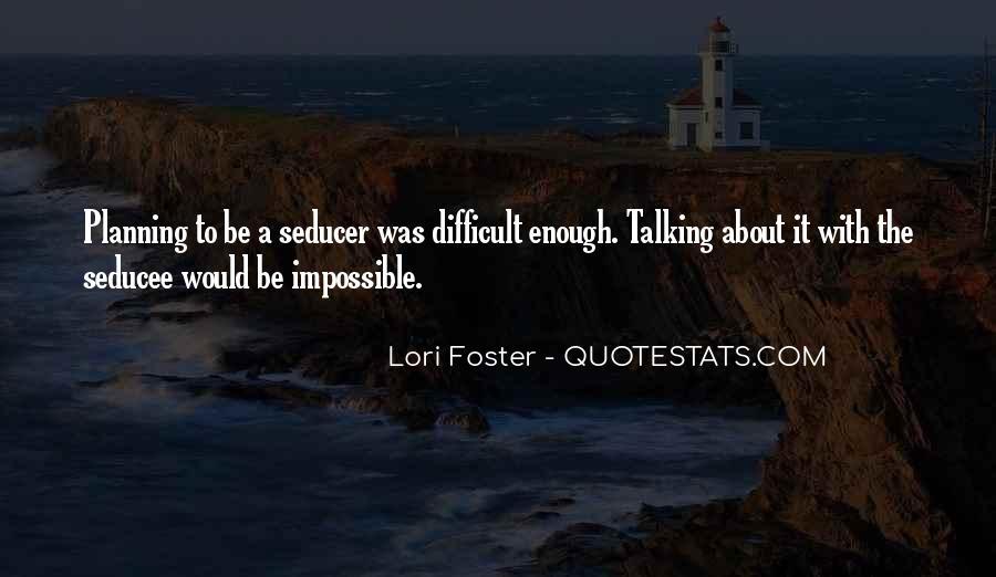 Lori Foster Quotes #1685766