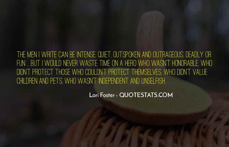 Lori Foster Quotes #382801