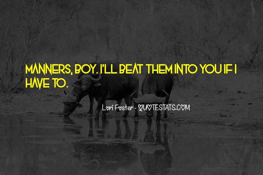 Lori Foster Quotes #79699