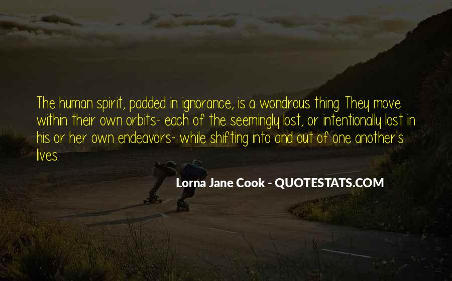 Lorna Jane Cook Quotes #1405066