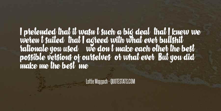 Lottie Moggach Quotes #1017873