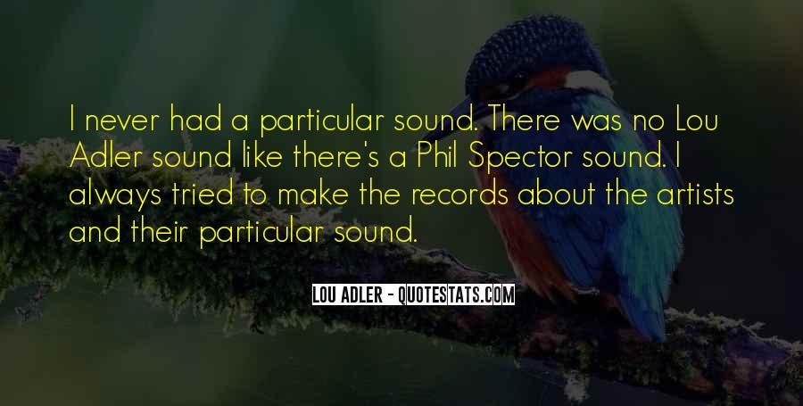 Lou Adler Quotes #469488