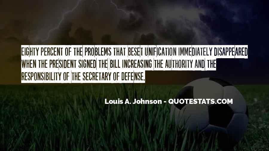 Louis A. Johnson Quotes #201076