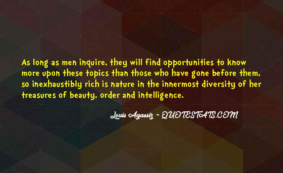 Louis Agassiz Quotes #810961