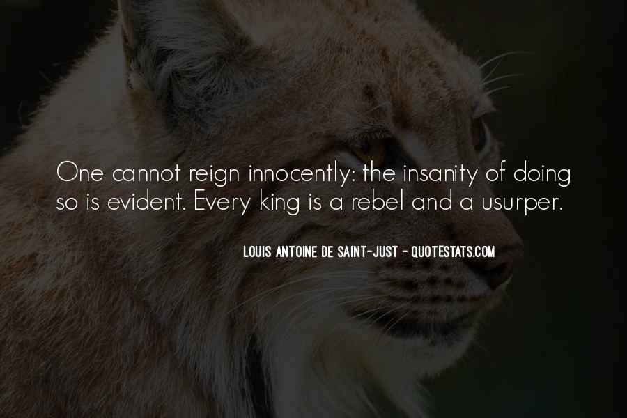 Louis Antoine De Saint-Just Quotes #1033236