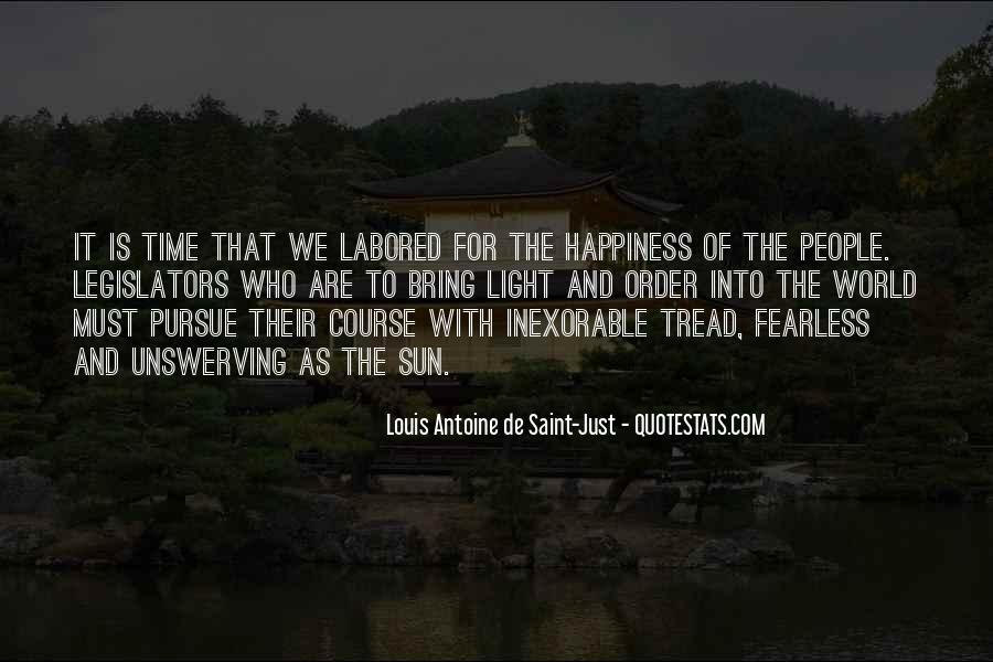 Louis Antoine De Saint-Just Quotes #1077716