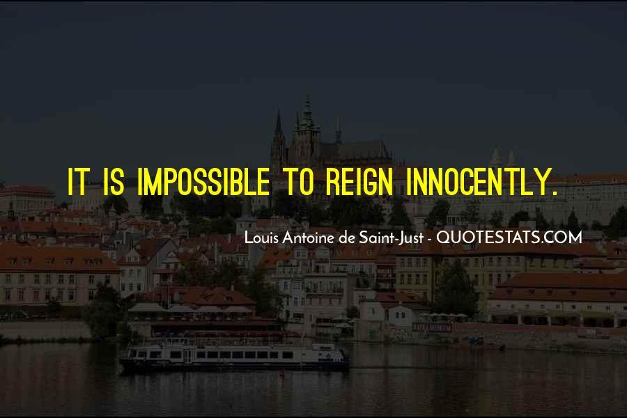 Louis Antoine De Saint-Just Quotes #1164215