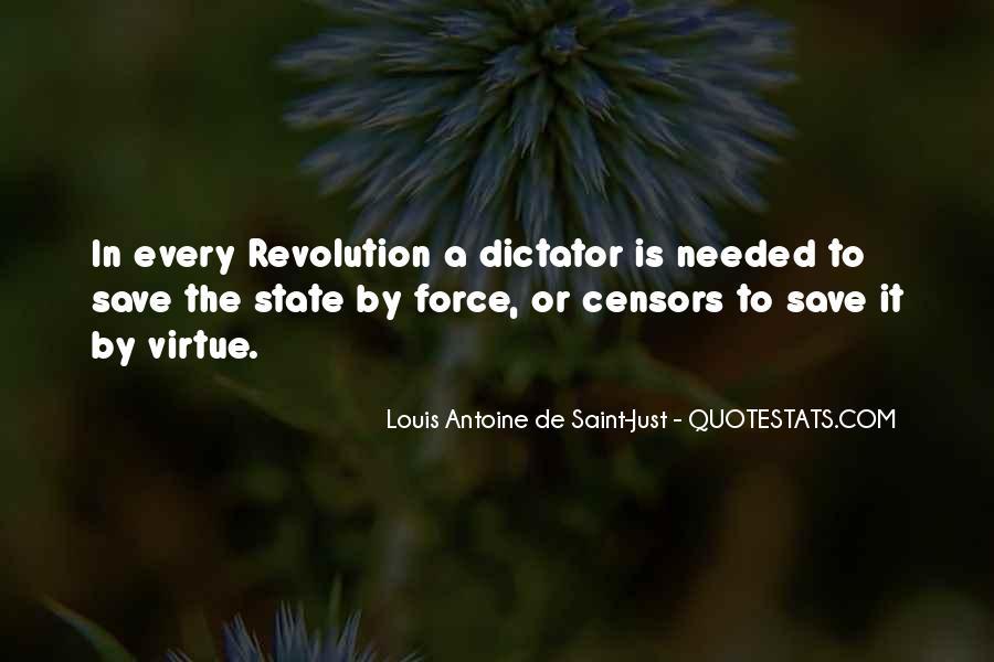 Louis Antoine De Saint-Just Quotes #1176722