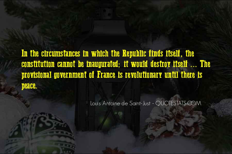 Louis Antoine De Saint-Just Quotes #1363289