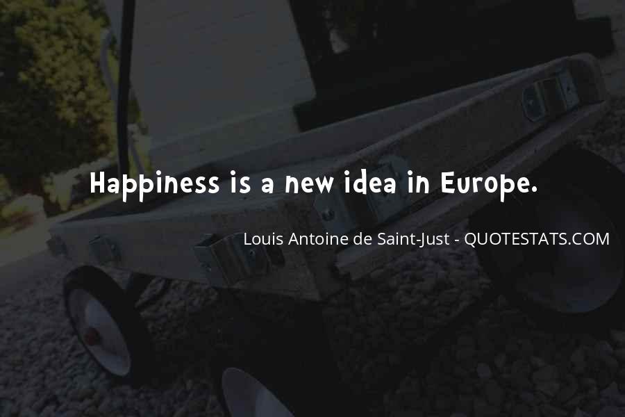 Louis Antoine De Saint-Just Quotes #447460