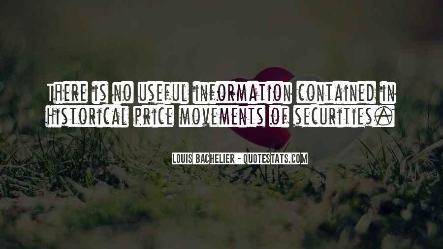 Louis Bachelier Quotes #1592363