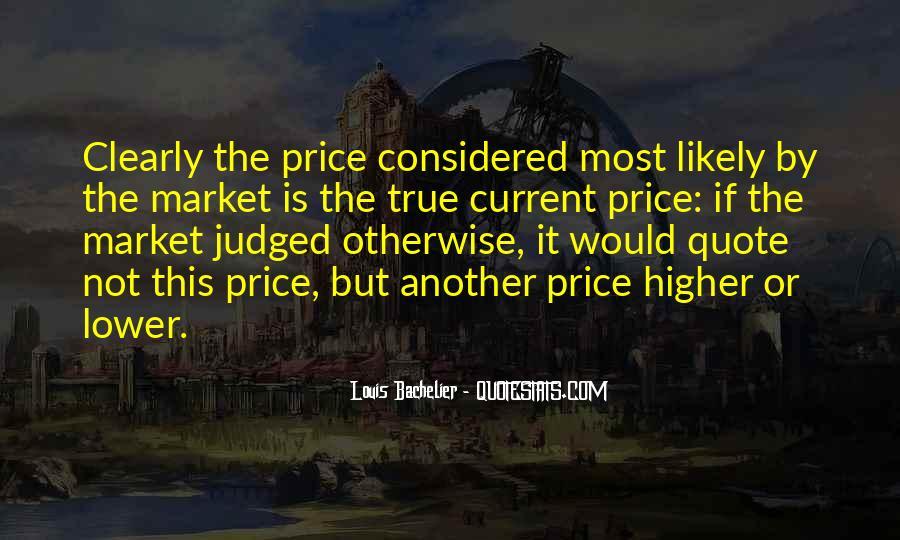 Louis Bachelier Quotes #906252