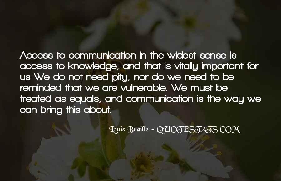 Louis Braille Quotes #1501294