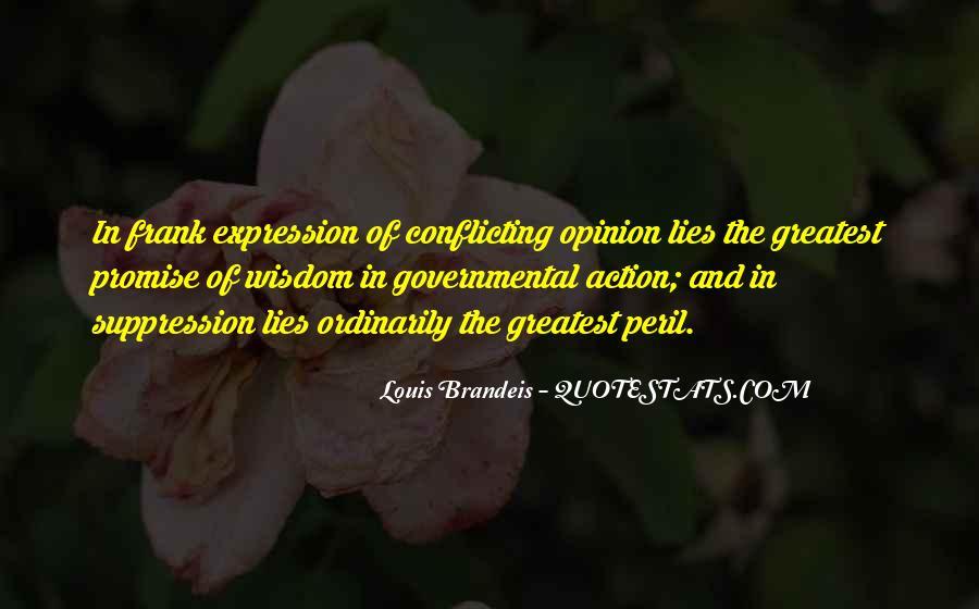Louis Brandeis Quotes #873696