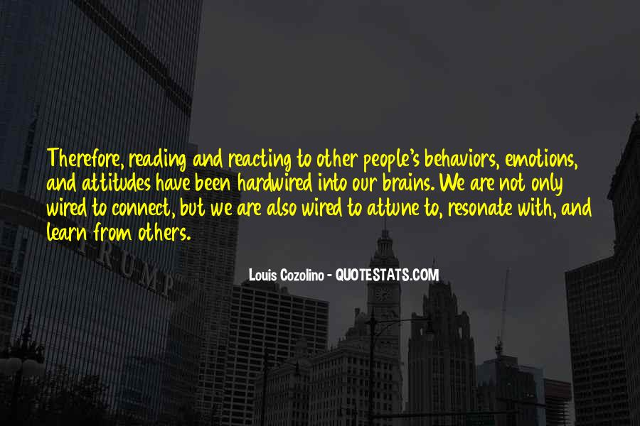 Louis Cozolino Quotes #771912