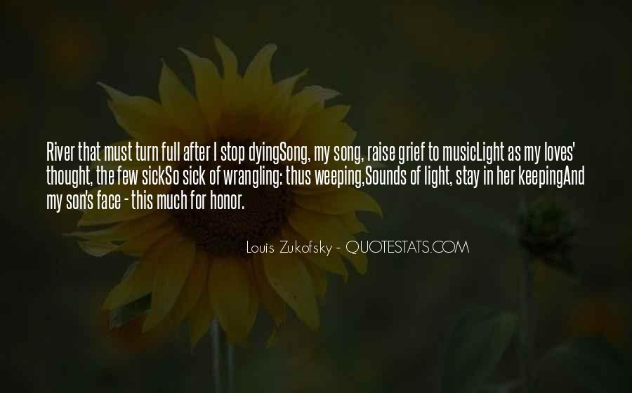 Louis Zukofsky Quotes #1741900