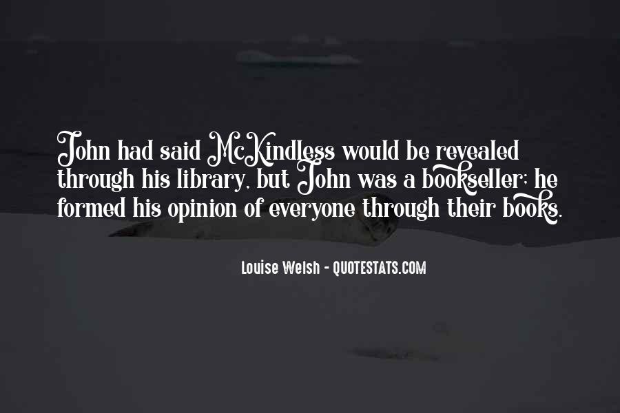 Louise Welsh Quotes #420577