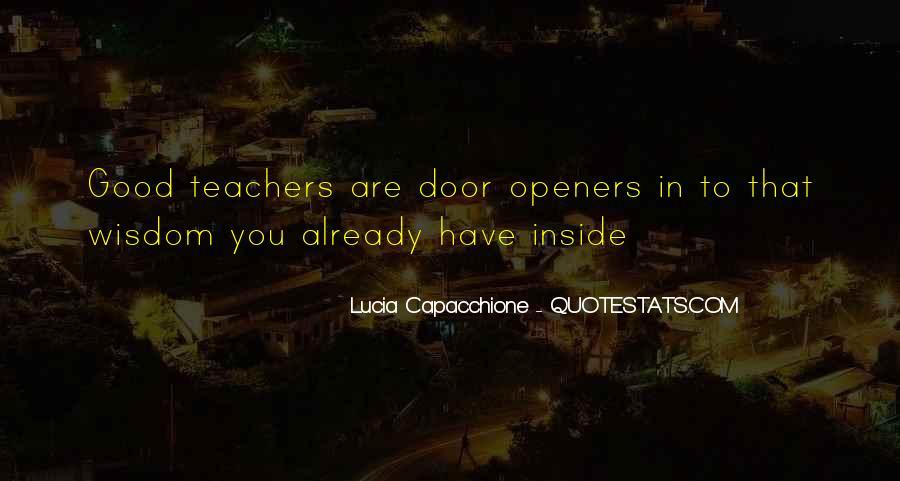 Lucia Capacchione Quotes #404162
