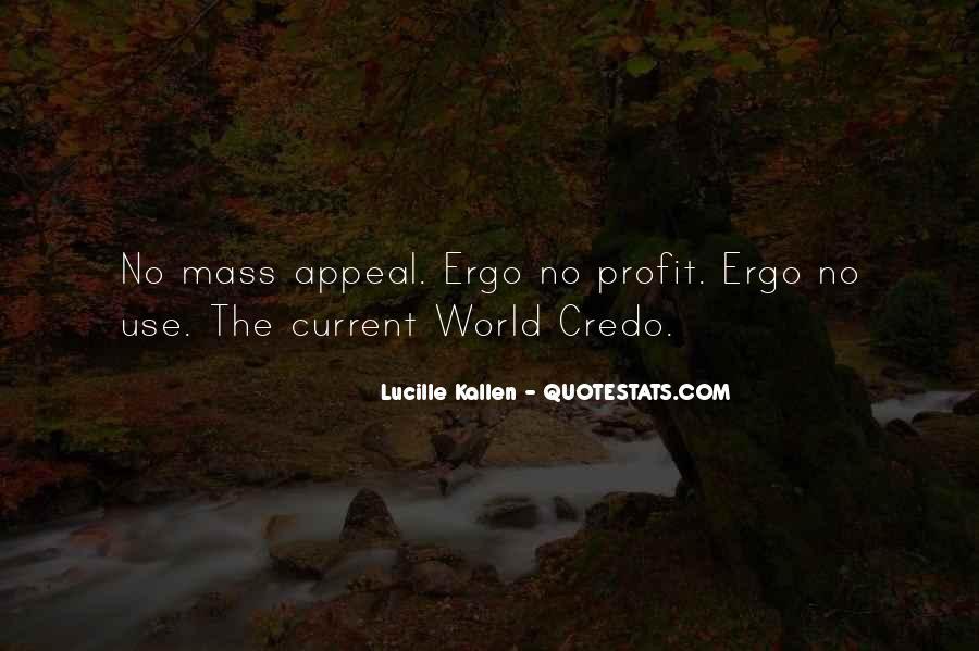 Lucille Kallen Quotes #1259318