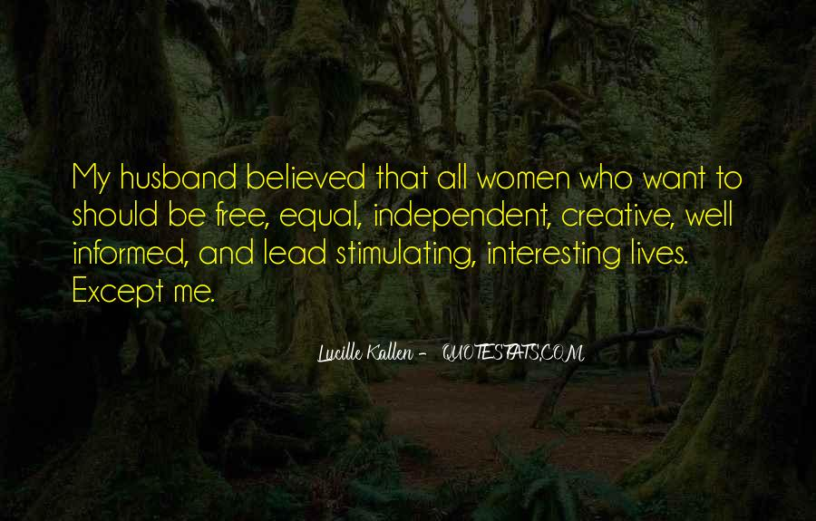 Lucille Kallen Quotes #1712495