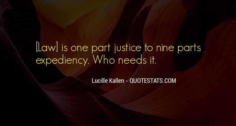 Lucille Kallen Quotes #1787399
