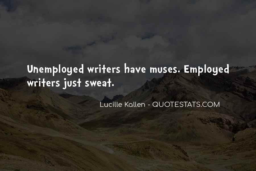 Lucille Kallen Quotes #1855494