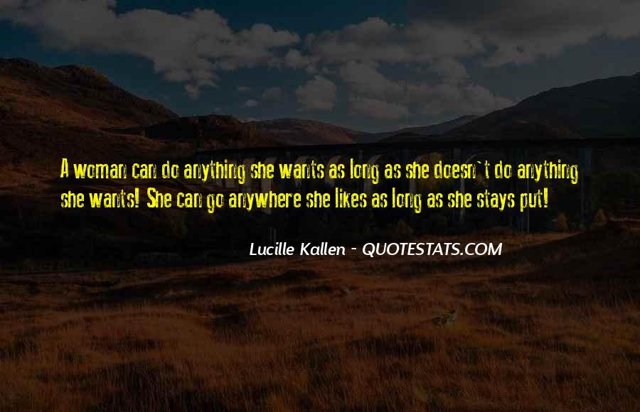 Lucille Kallen Quotes #335317