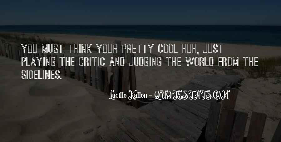 Lucille Kallen Quotes #398598