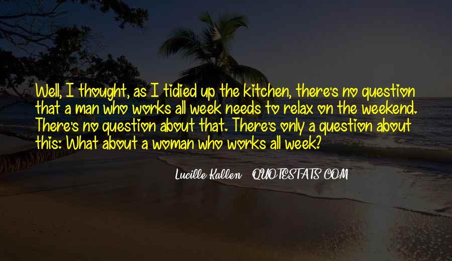 Lucille Kallen Quotes #750609